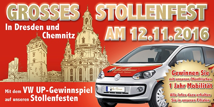 Grosses Stollenfest am 12.11.2016